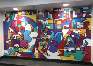 Katoen Natie Mural